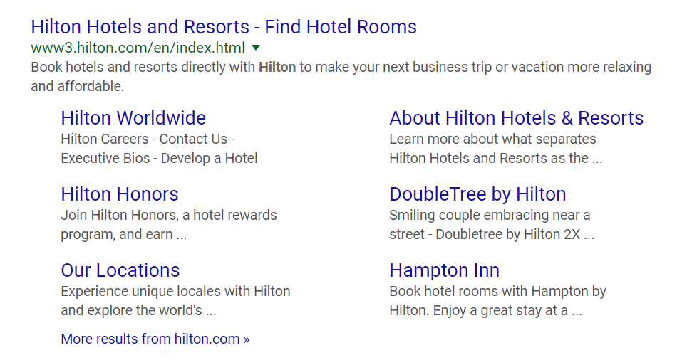 hotel room search engine results