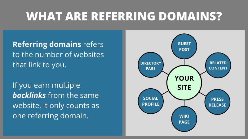 What are referring domains